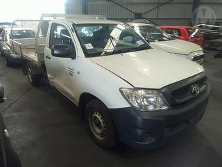 2010 Toyota Hilux 150 Workmate Cab Chassis C/chas Photo