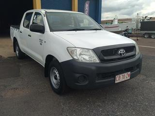 2010 Toyota Hilux 150 Workmate 4D Dual Cab Utility Photo