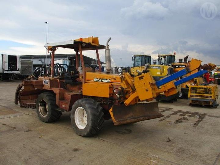 Used Ditch Witch 8020jd Trencher For Auction in Eagle Farm