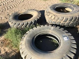Parts 3 Grader Tyres, 14.00-24 New, 20.5%25 Used, 14.00R24 Used Photo