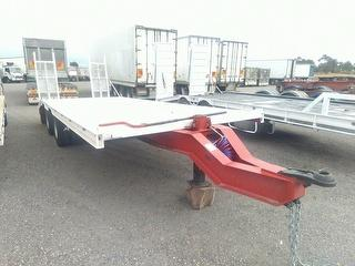 Custom Tandem Axle Tag Trailer Photo