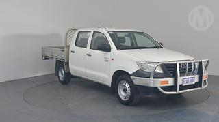 2014 Toyota Hilux 150 Workmate 4D Dual Cab Utility Photo