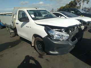 2017 Toyota Hilux TGN121R Workmate Cab Chassis Photo