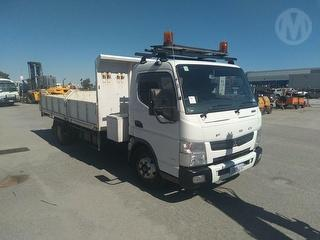 2011 Mitsubishi Canter 918 Tipping Tray GVM 8,200kg Photo