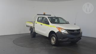 2012 Mazda BT-50 XT 4D Dual Cab Chassis Photo