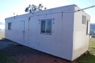 Acco Portable Building-Site Of 9.6m x 3m. Air Con, Sink Photo