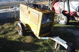 Lincoln Welder (Electric) 400amp, Trailer. Working Condition. Photo