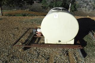Poly Parks & Gardening 1200l Tank Incl Frame.tank Good, Motor & Pump Not Working, Parts Only. Photo