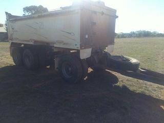 1997 M&S Kembla 00trail Tipping Trailer Steel Body. Sold with Lot 10 as combo ATM 24,000kg Photo