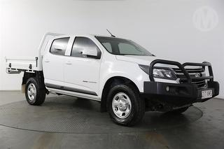2017 Holden Colorado RG LS 4D Dual Cab Chassis Photo