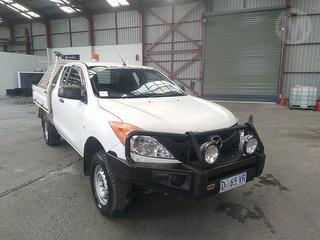 2013 Mazda BT-50 XT 2D X-cab Chassis Photo