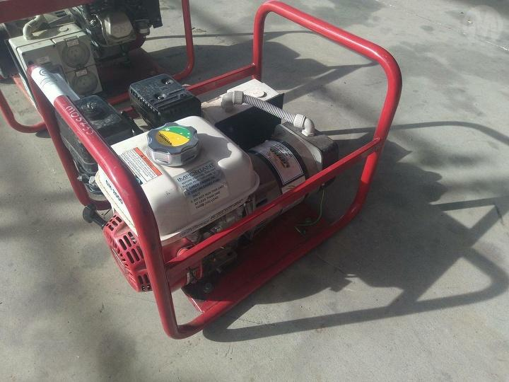 Used Genelite 2 5 KVA Generator (Workshop/Domes For