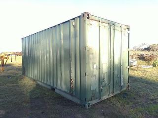 Custom 20 FT Sea Container With Cont Storage / Transport Conta Photo