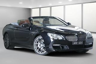 2011 BMW 6 Series F12 650i 2D Convertible Photo