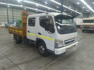 2010 Fuso Canter 3.5T Tipper GVM 6,500kg Photo