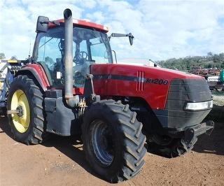 2000 Case IH MX200 Tractor With McCormack FEL Photo