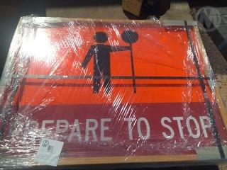 Miscellaneous Traffic Signs X 21 Unused Photo
