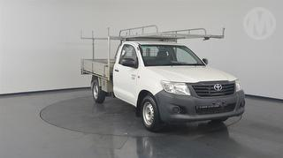 2015 Toyota Hilux 150 Workmate 2D Cab Chassis Photo