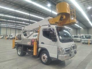 2010 Fuso Canter 4.0T EWP (Truck Mounted) F/W Tadano EWP Model AT120TG GVM 7,500kg Photo
