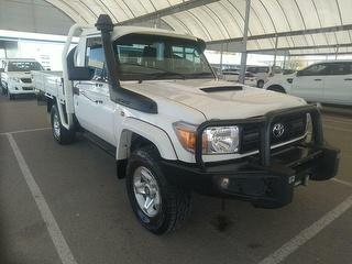 2015 Toyota Landcruiser 76/78/79 Series GX 2D Cab Chassis (QFleet) Photo