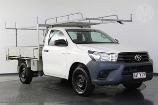 2016 Toyota Hilux TGN121R Workmate 2D Cab Chassis Photo