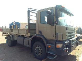 2002 Scania Cargo Truck Troop Carrier GVM 20,100kg Photo