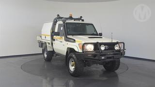 2012 Toyota Landcruiser 76/78/79 Series Workmate 2D Cab Chassis Photo