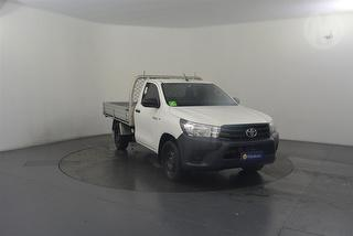 2015 Toyota Hilux TGN121R Workmate 2D Cab Chassis Photo