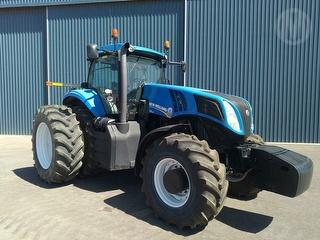 2011 New Holland T8.330 FWA Tractor Photo