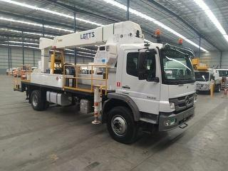 2013 Mercedes-Benz Atego 1626 EWP (Truck Mounted) GVM 16,000kg Photo