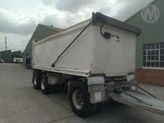 2012 Hercules HEDT3 Dog Trailer ATM 25,500kg Photo
