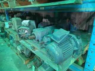 Assorted Pumps And Motors Photo