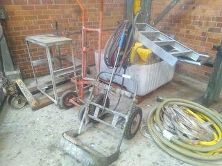 Custom Bottle Trolley With Hose And Gauges Photo
