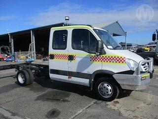 2007 Iveco Daily 50C18 Cab Chassis GVM 4,495kg Photo