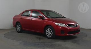 2010 Toyota Corolla ZRE15 Ascent 4D Sedan Photo