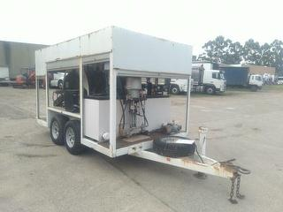 2007 Carter Westco Pipe Lining Rig Trailer Photo