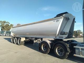 2017 Bruce Rock Engineering BRE TR350 Tipping Trailer ATM 48,000kg Photo