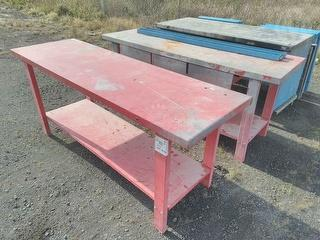 Custom Metal Benches Workshop Equipment (GP) *Located in Traralgon VIC* Photo