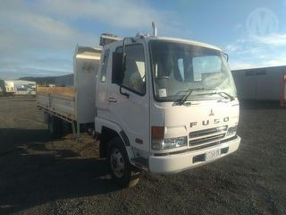 2007 Mitsubishi Fighter FK600 Tipping Tray GVM 10,400kg Photo