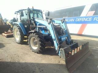 2006 New Holland TL90A Tractor (VIC) Photo