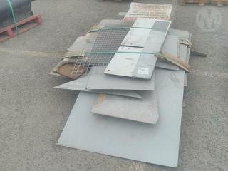 Assorted Metal Sheets Photo