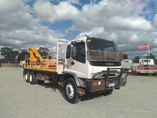 2004 Isuzu FVZ 1400 Tray GCM 36,000kg Photo