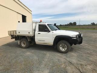 2008 Nissan GU Patrol Single Cab UTE Photo