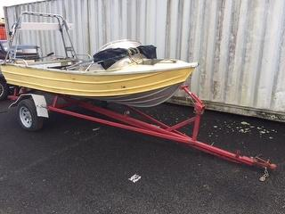 2007 Fryan Boat And Trailer Trailer (Boat) *** Auckland *** Boat And Trailer Photo