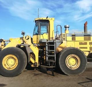 2001 Komatsu WA600-3 Loader (Wheeled) *** Located Mount Maunganui *** Photo