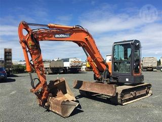 2012 Doosan DX80R Excavator ***athy Place Auckland*** Photo