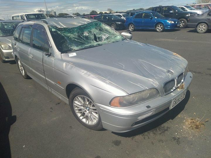 Damaged 2001 Bmw 530i Touring Accident Damaged Touring And Salvage