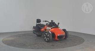 2015 Can-Am Spyder Roadster F3-S Motorcycle Photo