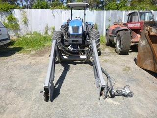 2012 New Holland T5050 Rops Tractor *** Hamilton *** And FEL *** Photo