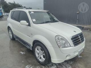 2011 Ssangyong Rexton 4wd 5D Station Wagon Photo